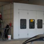 Hub City Auto Body Paint booth